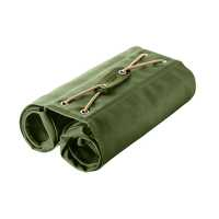 BROOKS Brick Lane Roll-Up Panniers - hay green/olive