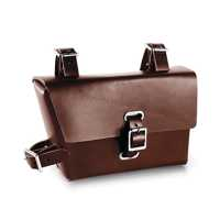 Brooks B4 Moulded Leather Bag - brown