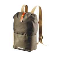 BROOKS Dalston Knapsack Small - green fleck/honey